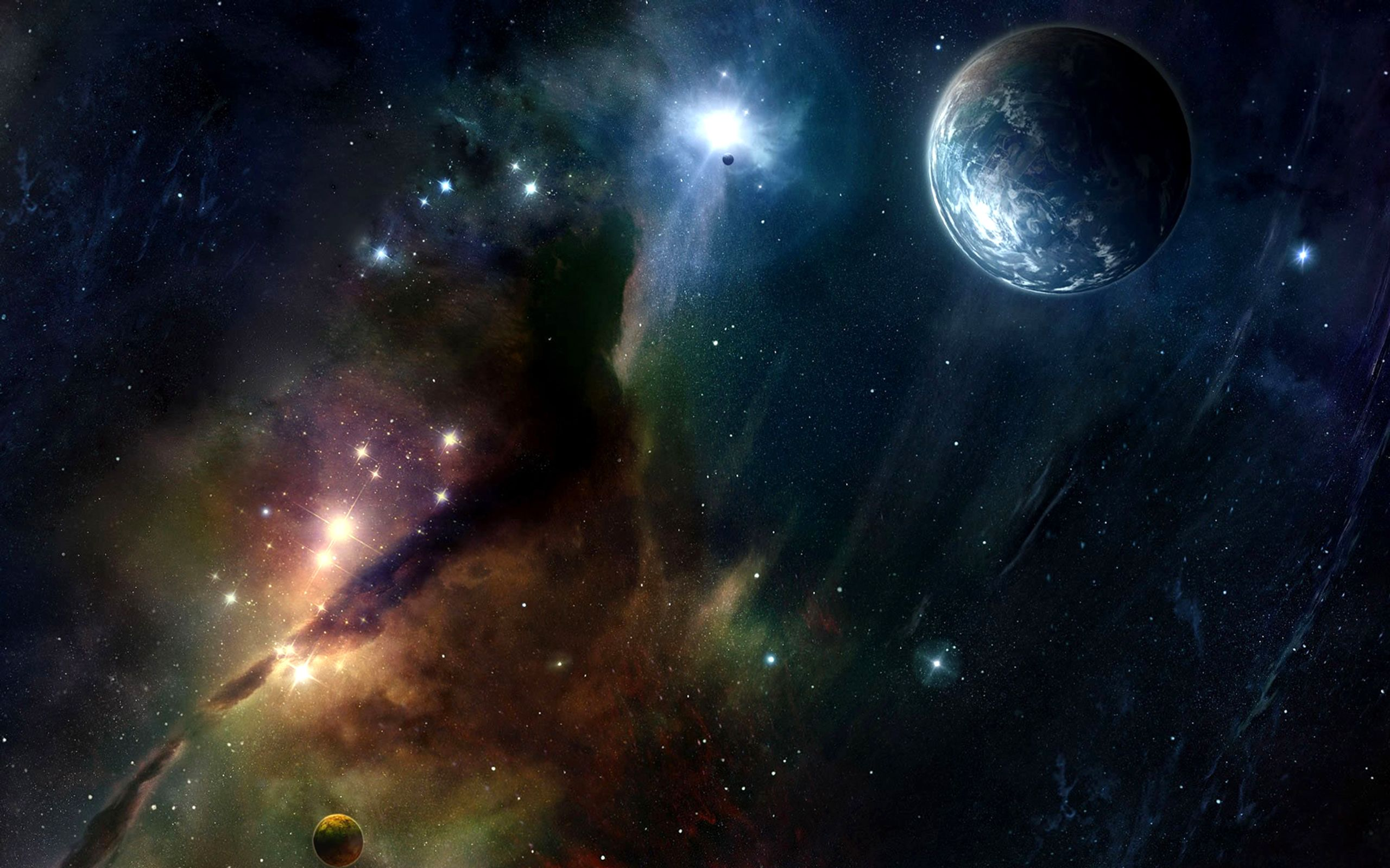 Abstract Space Wallpaper Wide XlY
