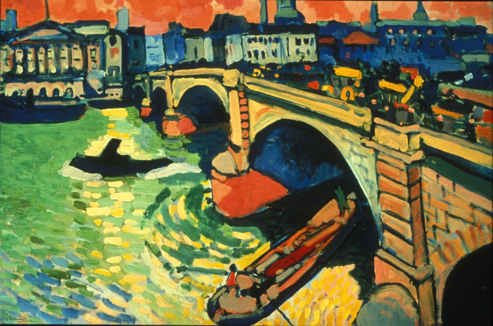 andre derain london bridge André derain (1880-1954) came to london in 1906 to paint a series of  producing no less than six views of tower bridge,  andré derain: the london paintings.