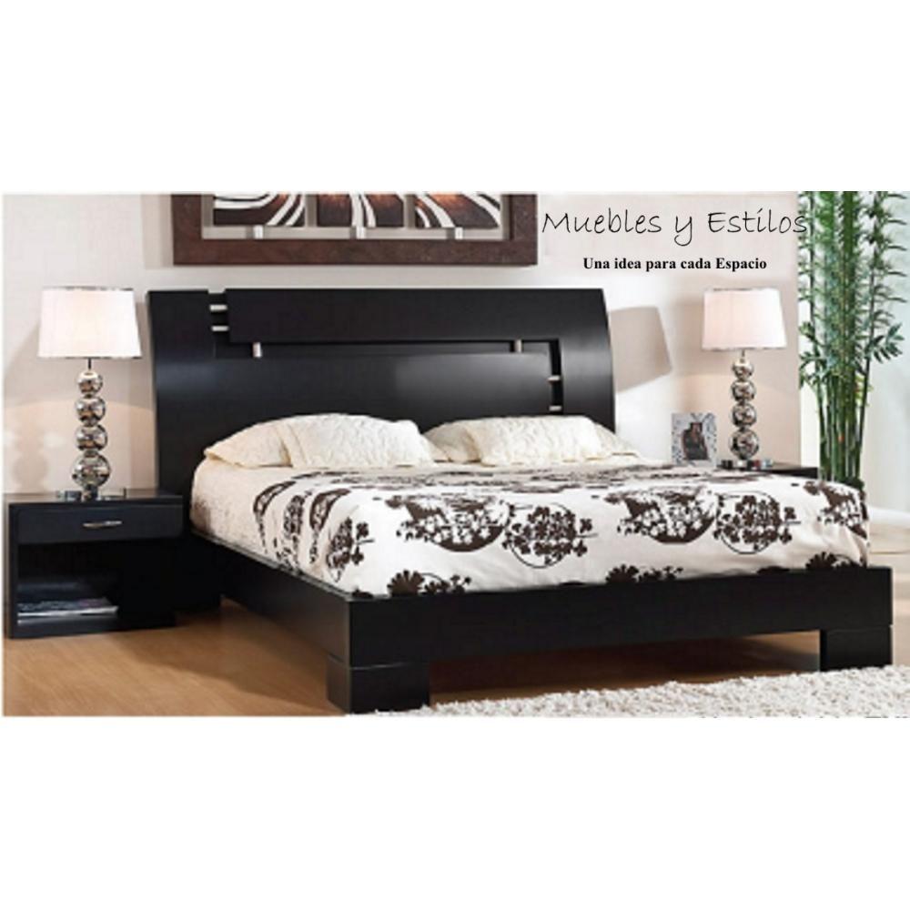 dormitorios-cama-matrimonial-mesa-de-noche-peinadora ...