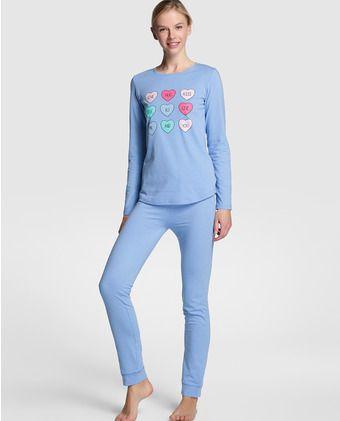 a379b0252b Pijama de mujer de Easy Wear Íntimo largo