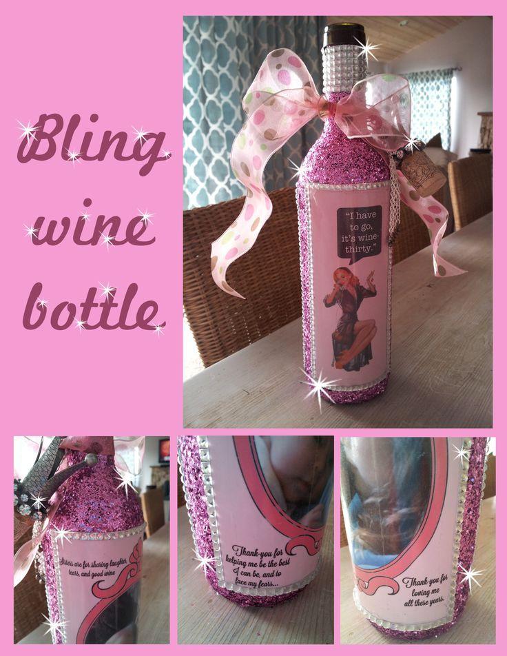 Decorative Bottle Wine Bottle Decorations For Quinceaneras