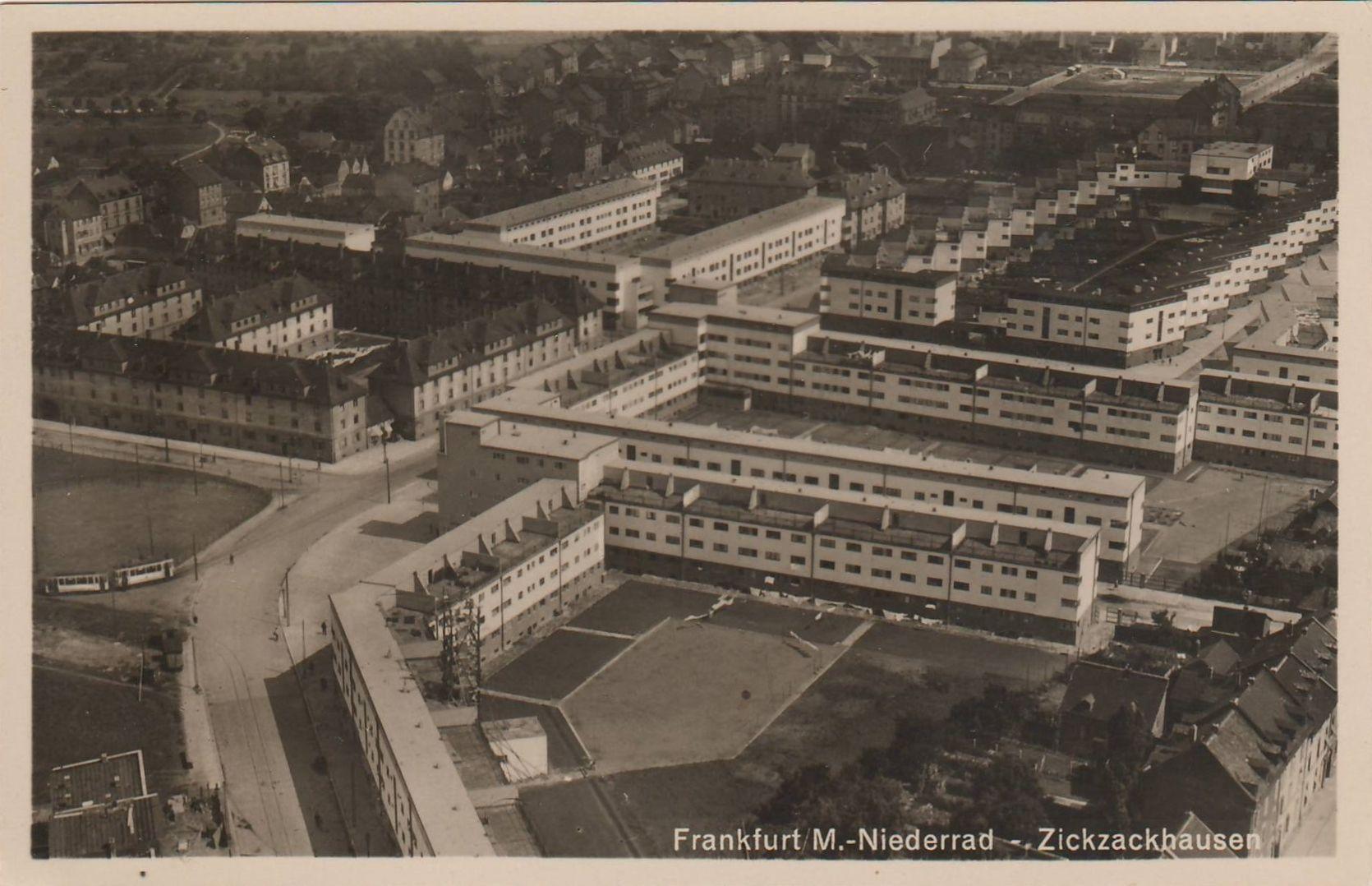 German Modernism And Neues Bauen Architektur Siedlung Frankfurt