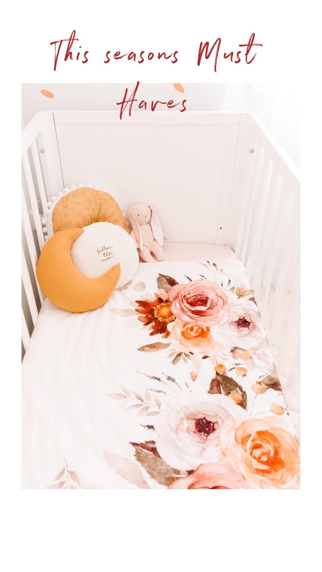 Blithe Baby Crib Quilt Baby Bedding Warm Earthy Tones In 2020 Baby Crib Quilt Baby Bed Baby Cribs