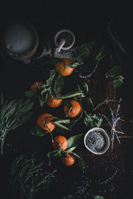 DIY Gifts: Satsuma Herb de Provence Salt + Saffron Lavender Honey // Kinfolk Herbal Infusion Workshop TN by Beth Kirby   {local milk}, via F...