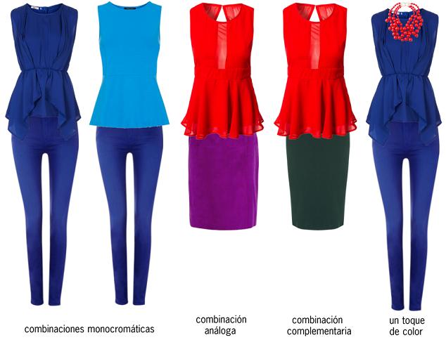 Teoría del color: Cómo crear combinaciones de ropa espectaculares ...