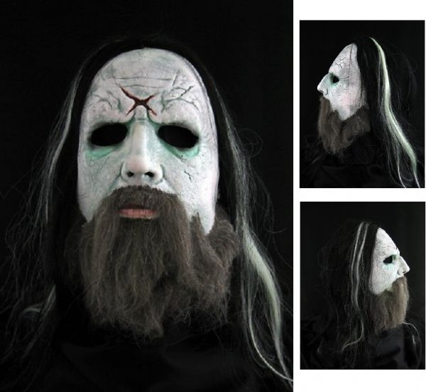 ROB ZOMBIE Hellbilly Deluxe Halloween Latex Mask