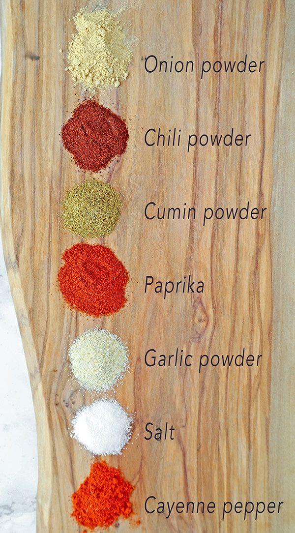 Homemade Fajita Seasoning #homemadefajitaseasoning