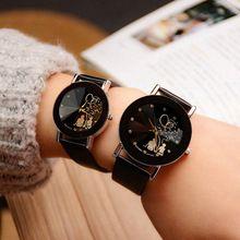 ff868f3f907 Yazole amantes relógio de quartzo relógio de pulso dos homens das mulheres  de marca famosa feminino