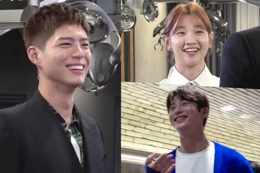 """Watch: Park Bo Gum, Park So Dam, Byun Woo Seok, And More Are Full Of Laughter On Set Of """"Record Of Youth"""""""