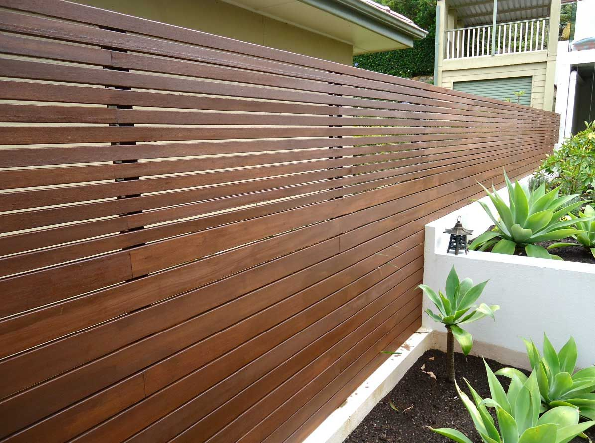horizontal wood slat fence. Modren Horizontal 4ft Wooden Horizontal Cedar Fence Wooden Slat Ideas  In Horizontal Wood Slat Fence