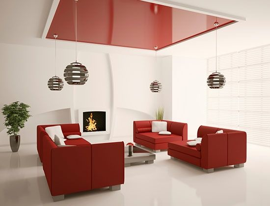 7 Paint Colors That Go Well With Red. Living Room Color CombinationLiving  ...