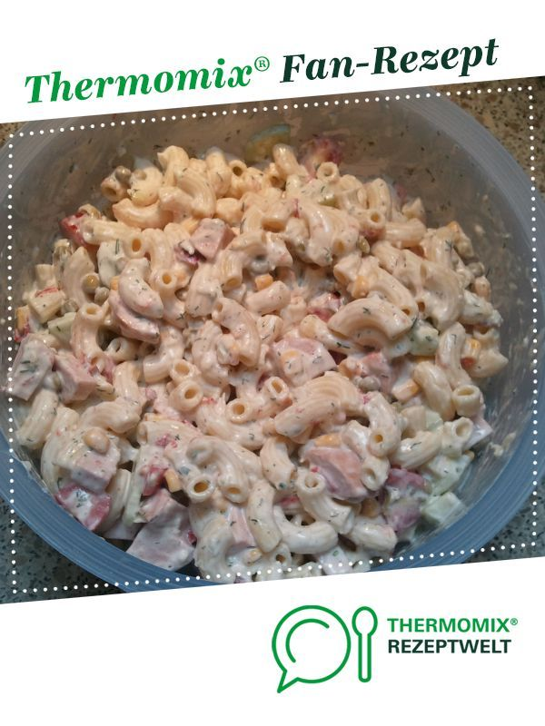 Croissant noodle salad #cookingrecipes #foodrecipes #healthyrecipes #meatrecipes #potatoesfoodrecipes #practicaldeliciousrecipes #readyrecipes