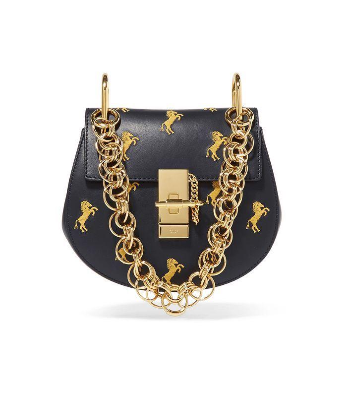 739f756caa36 Chloé Drew Bijou Mini Embroidered Leather Shoulder Bag