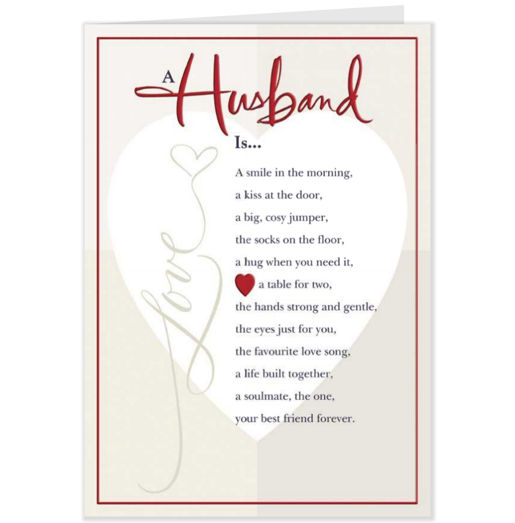 Valentines+Day+Cards+For+Husband   Roll over image to