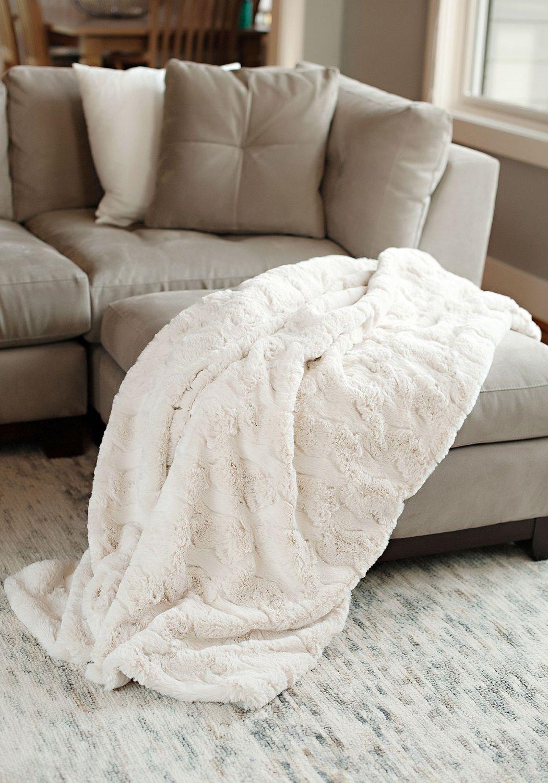 Luxury Fur Faux Throws