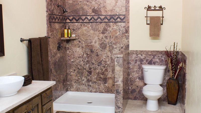 Surround Yourself With The Luxury Of Natural Stone At A Fraction Enchanting San Diego Bathroom Remodeling Decorating Inspiration