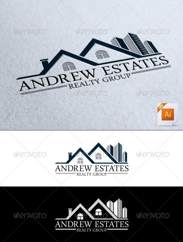 Real Estate Logo by CreativeDezing on @creativemarket … | Pinteres…
