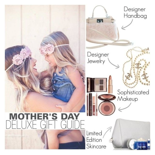 """SHE's my everything!"" by bagsaporter ❤ liked on Polyvore featuring Fendi, Chanel, La Prairie and Charlotte Tilbury"