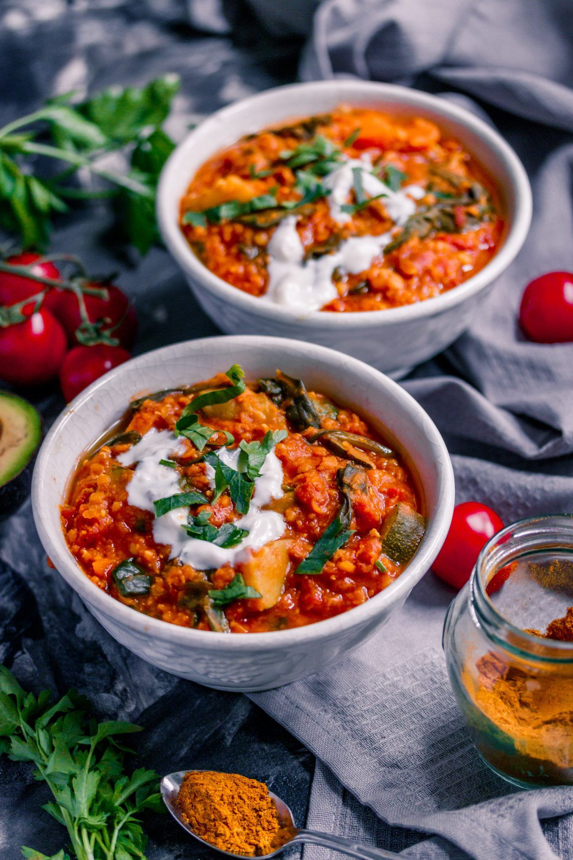 Photo of Simple red lentil stew