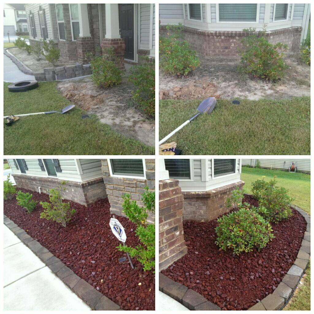 Lava Rocks for my flower bed | Garden | Pinterest | Lava ...