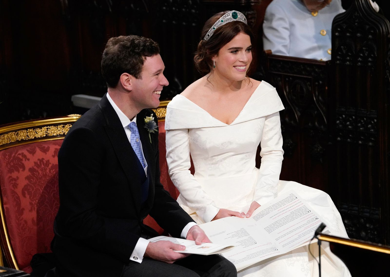 You Definitely Missed These Details in Princess Eugenie's