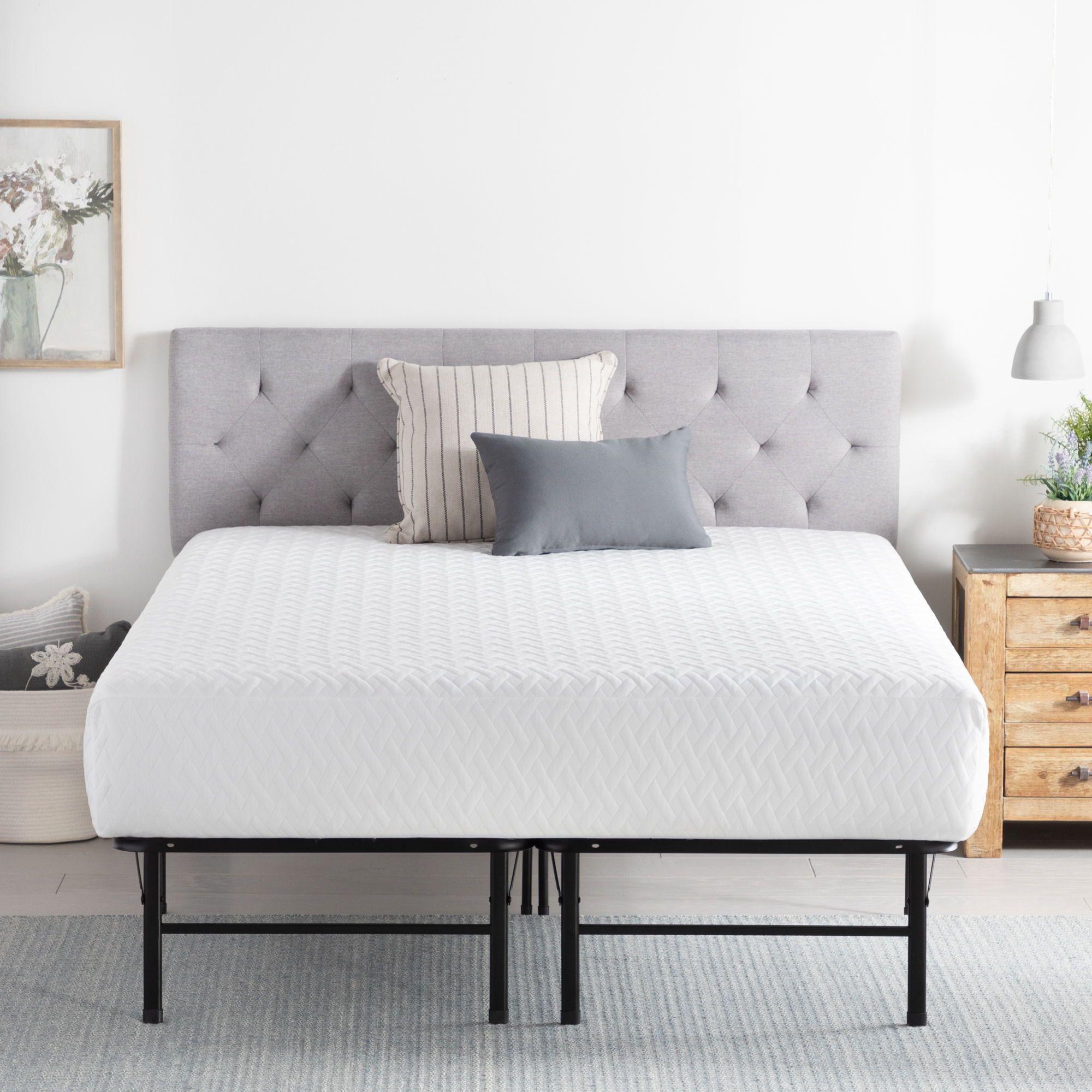 """Brookside Platform Bed Frame, 14"""" Upholstered bed frame"""