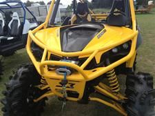 S3 Powersports Can Am Maverick Extreme Front Bumper - Click