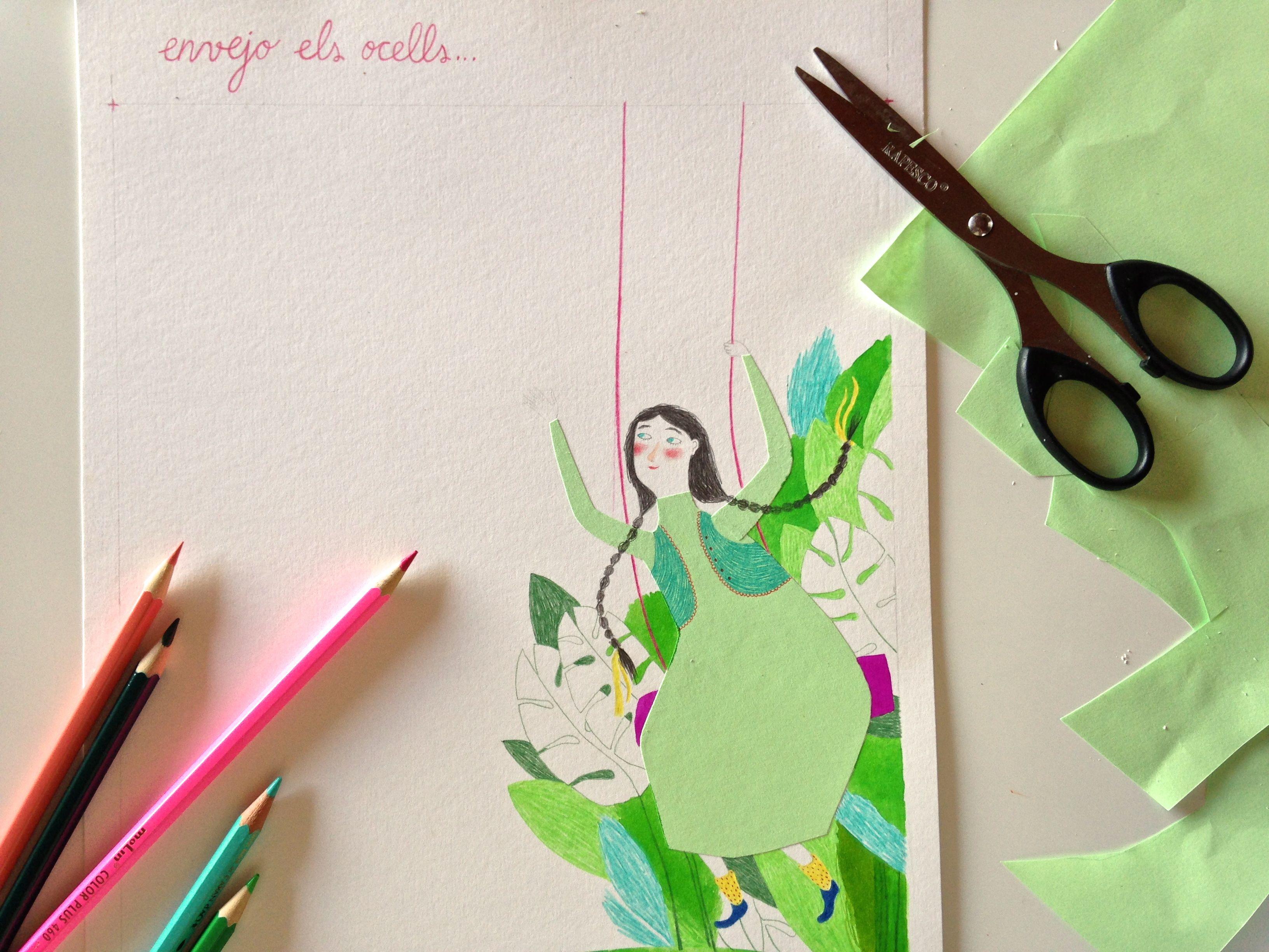 Mariona Cabassa Work In Process 3 Sketch Book Paper Art Art Inspiration