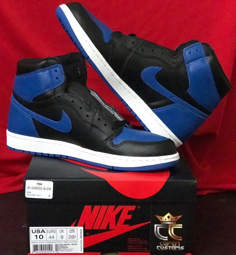 2017 Nike Air Jordan 1 Nike Retro High Og Royal Blue New In Hand Pairs Air Jordan 1 Retro High Og Royal 2017 In Men Sizes 10 11 5 Air Jordans Jordan 1 Retro High Jordans