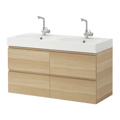 GODMORGON / BRÅVIKEN Sink cabinet with 4 drawers IKEA 47\