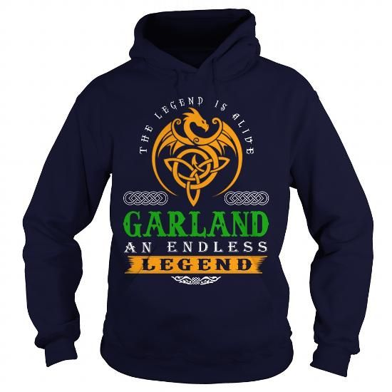 Cool GARLAND The Legend Is Alive GARLAND An Endless Legend v30 Shirts & Tees