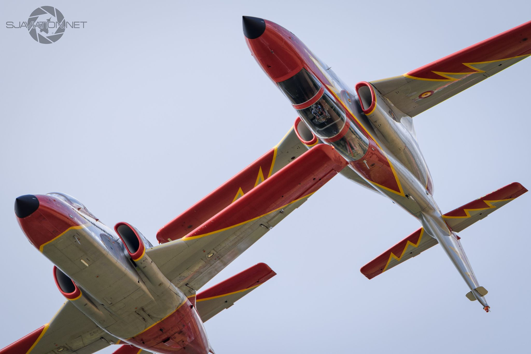 """ Patrulla Aguila"" - Casa Aviojets Of The Spanish Airforce Aerobatic Display Team,RIAT 15"