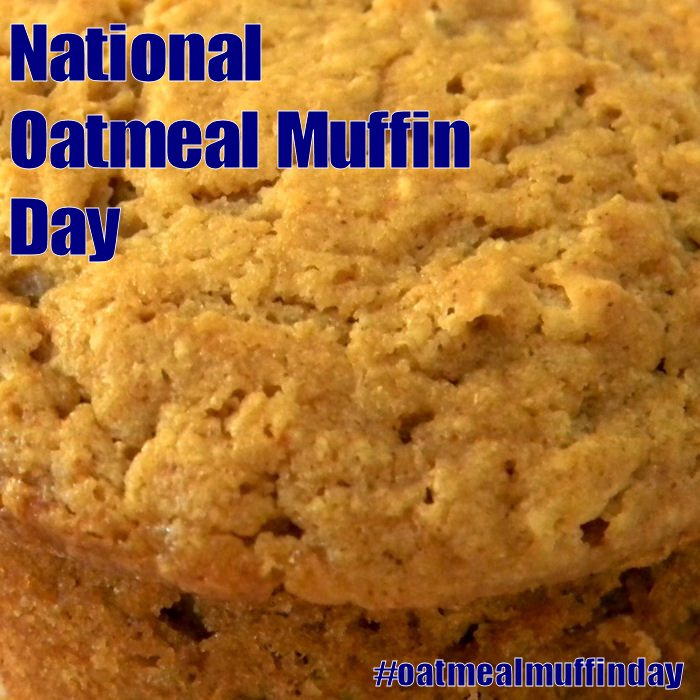 National Oatmeal Muffin Day - December 19, 2016