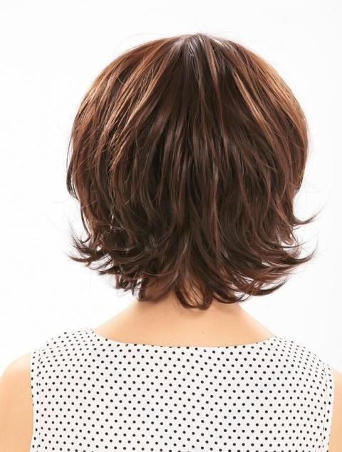 Golden Brown Short Hairstyles With Bangs-2
