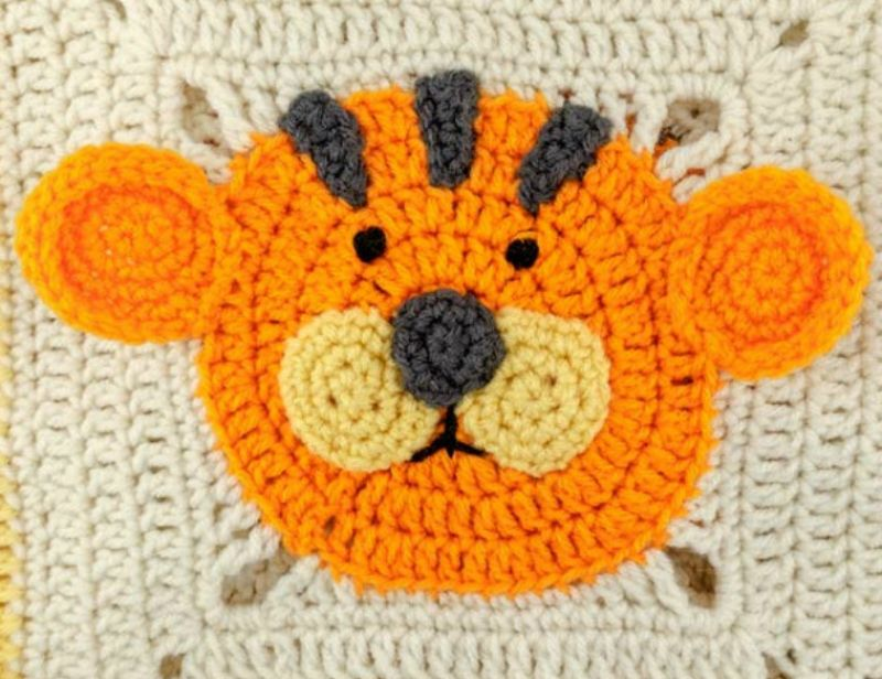 Crochet Lion Blanket Pattern Lots Of Great Ideas For You | Deckchen ...