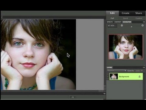 Learn Photoshop Elements - The beginning