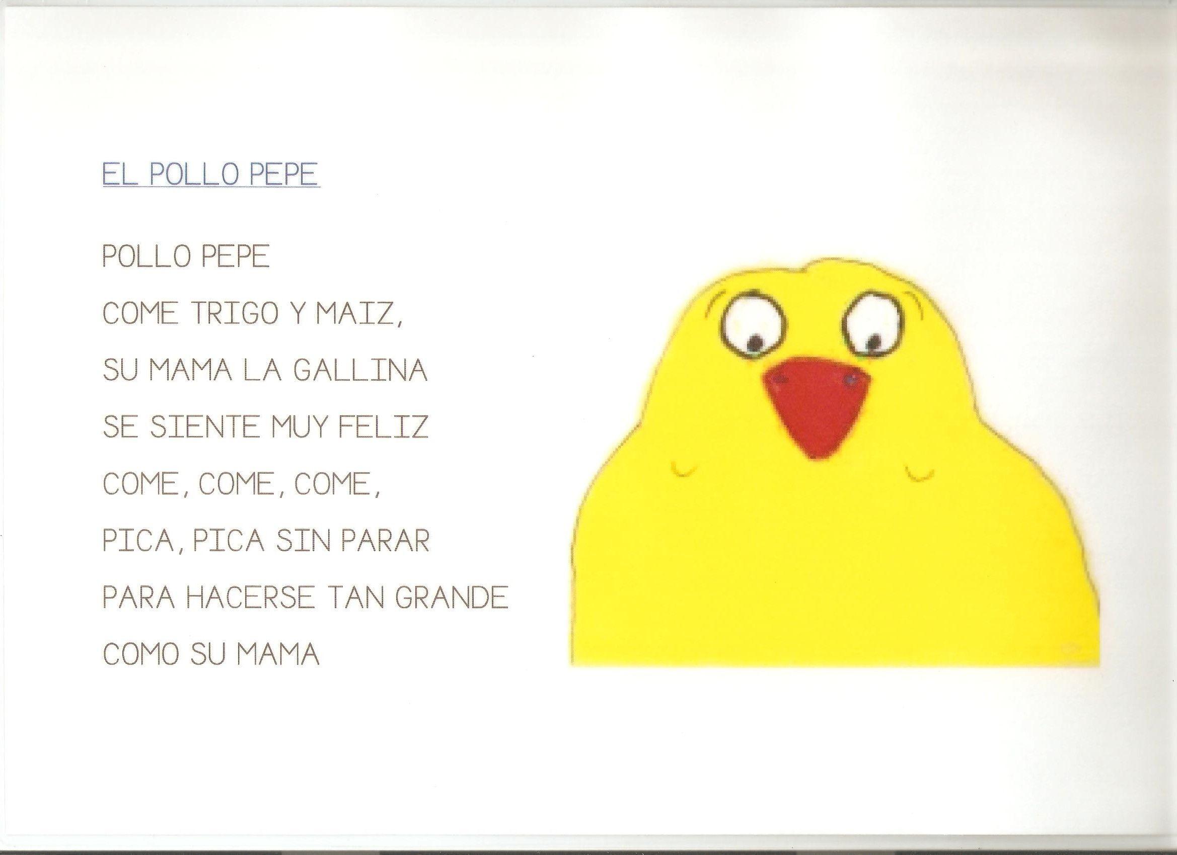 El pollo Pepe El Cuento Actividades, Disfraz De Pollo, Imagenes De  Proyectos, Desarrollo