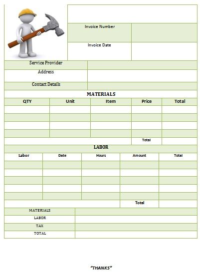 CARPENTER INVOICE TEMPLATE-11