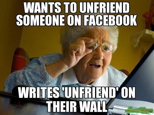 unfriend Facebook humor, Unfriend quotes, Funny quotes
