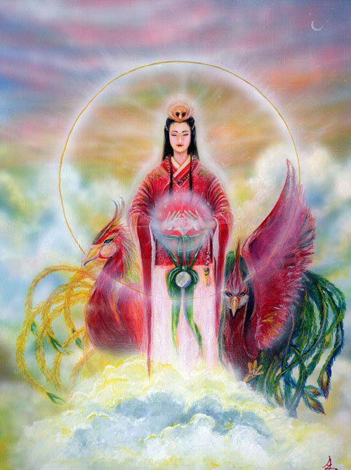 Xi Hou Shee Ho Also Hsi Hou A Chinese Goddess Titled Mother