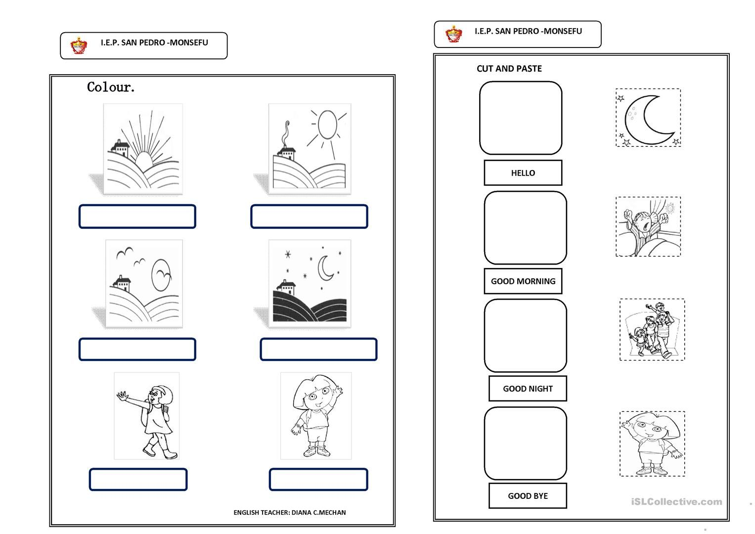 Greetings Worksheet Free Esl Printable Worksheets Made By Teachers