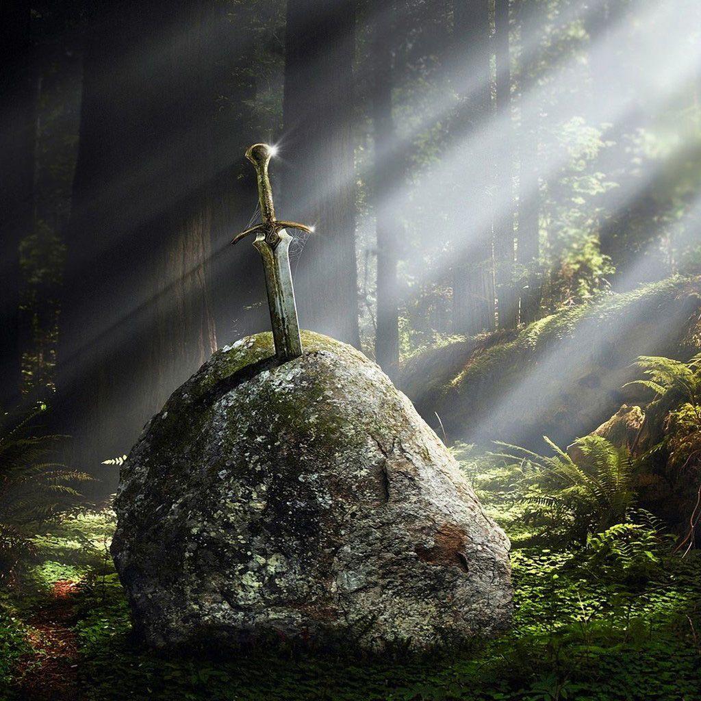 Medieval sword in stone medieval pinterest medieval swords medieval sword in stone fandeluxe Gallery