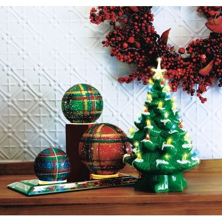 mr christmas tree in green 17372 interior home decor ace hardware