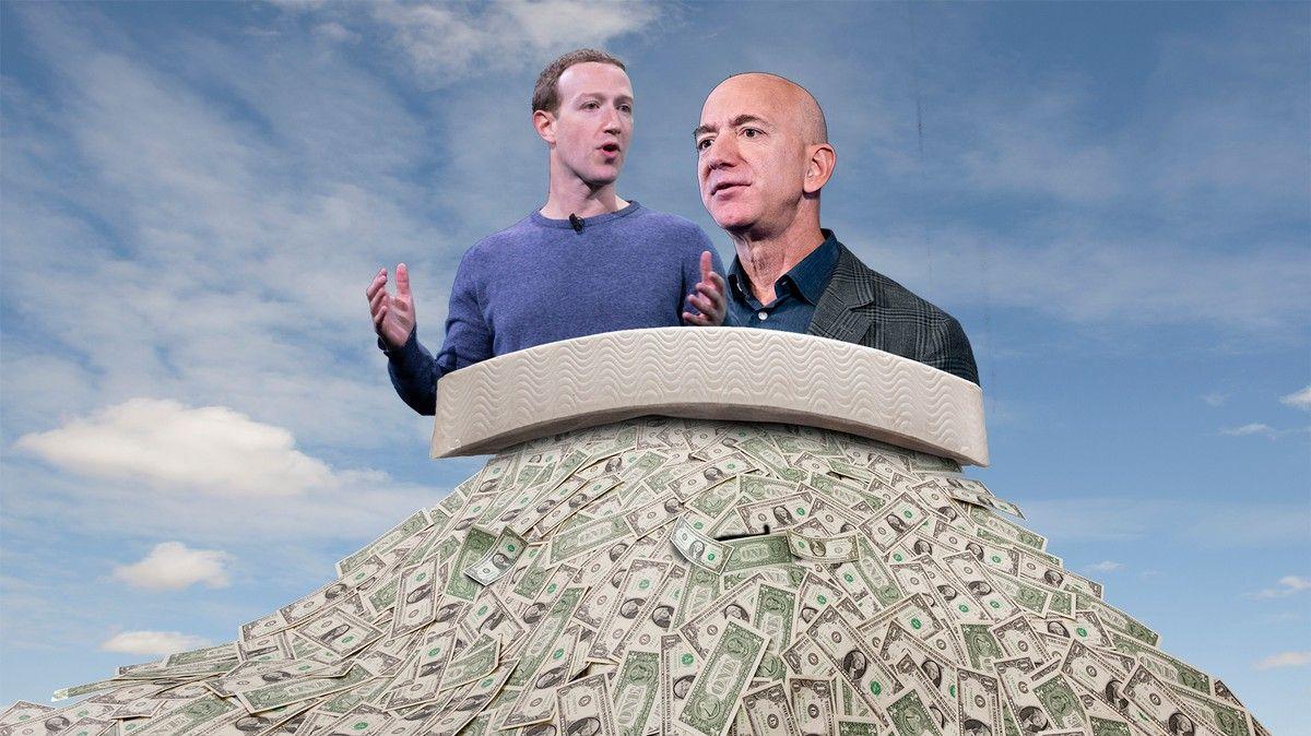 Tech Companies Report Huge Profits as 40 Million Americans