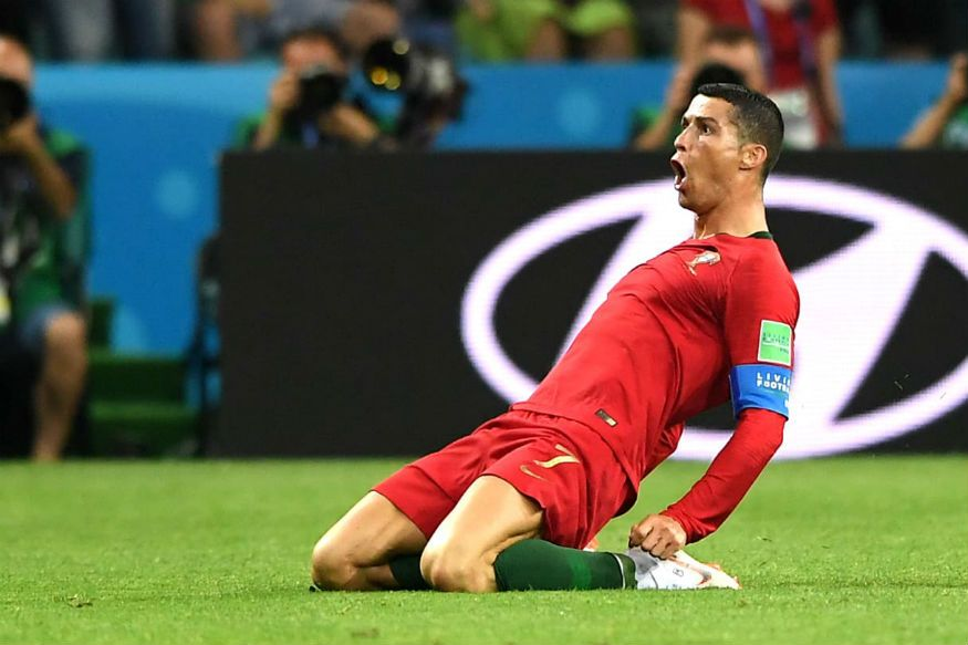 Portugal Vs Spain Fifa World Cup 2018 Highlights As It Happened Ronaldo Free Kick Cristiano Ronaldo Ronaldo
