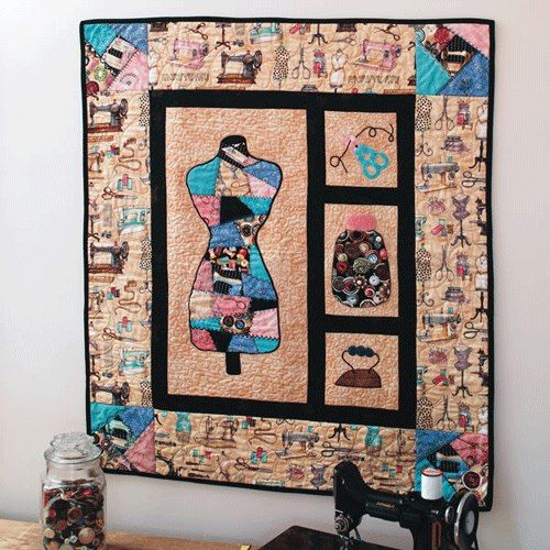 Download Your Free Quilt Patterns from FonsAndPorter.com ... : free quilted wall hanging patterns - Adamdwight.com