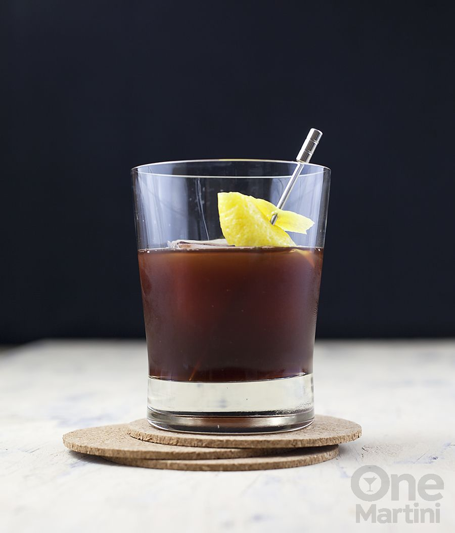 Newer Iberia : A Campari Rum Cocktail : Onemartini.com