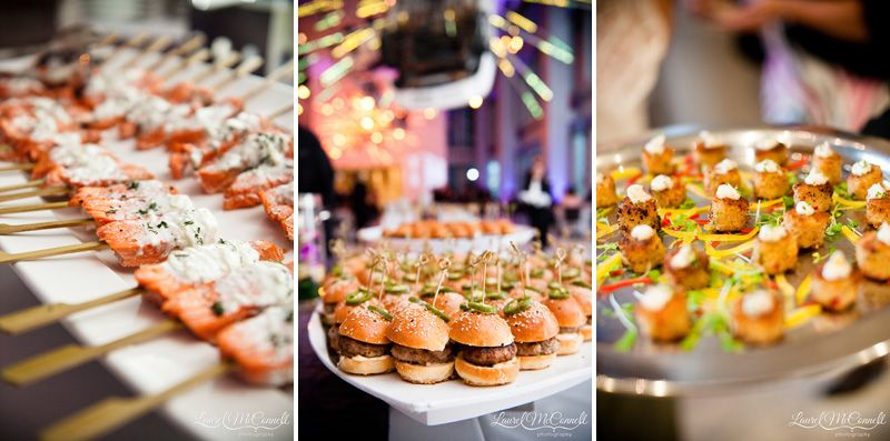 Stellar Seattle Art Museum Wedding Party Food Themes Night Food