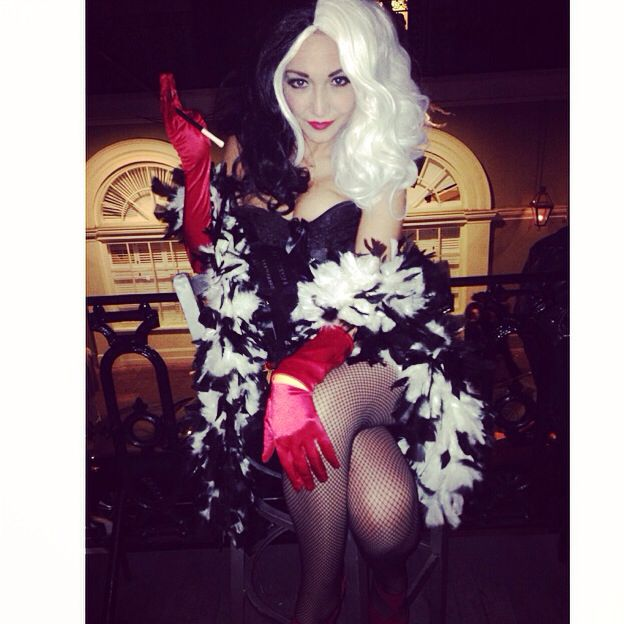 DIY Cruella de Ville! One of the most fun costumes I've done yet