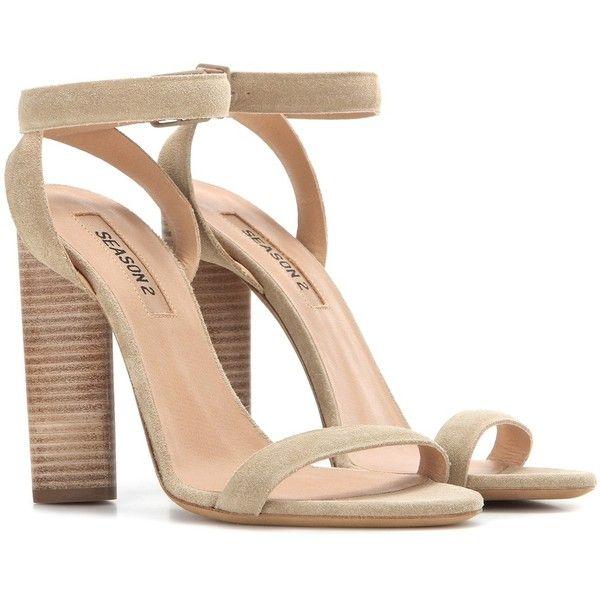 High Heel Ankle Strap Beige Sandals | Heels, Beige sandals